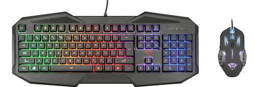 Trust GXT RAVONN Gaming Keyboard and Mouse QWERTY Main Image