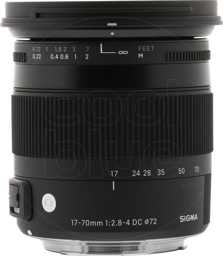 Sigma EF-S 17-70mm f/2.8-4 DC Macro OS HSM Canon Main Image