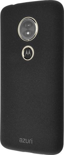 Azuri Flexible Sand Moto E5 Back Cover Black Main Image