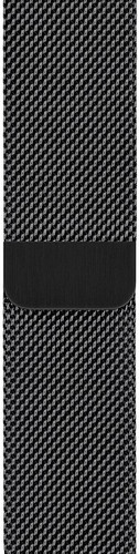 Apple Watch 44mm Watch Strap Milanese Space Black Main Image