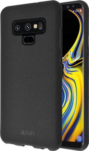 Azuri Flexible Sand Samsung Galaxy Note 9 Back Cover Black Main Image