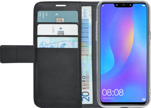 best website d4008 61fa5 Azuri Wallet Magnet Huawei Mate 20 Lite Book Case Black