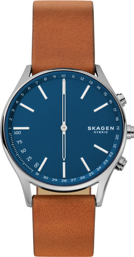 Skagen Holst Connected Hybrid Blauw/Bruin Main Image