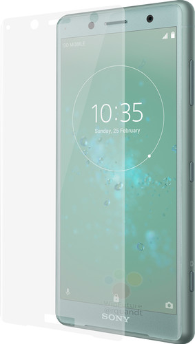 Azuri Tempered Glass Sony XZ2 Compact Screen Protector Glass Main Image