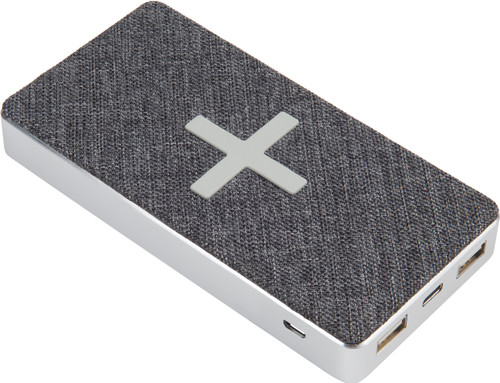 Xtorm Power Bank Wireless QI 8,000mAh Wave Gray Main Image