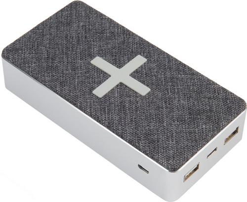 Xtorm Powerbank Wireless QI 16.000 mAh Motion Grijs Main Image