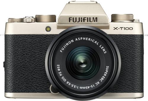 Fujifilm X-T100 Gold + XC 15-45mm OIS PZ Main Image