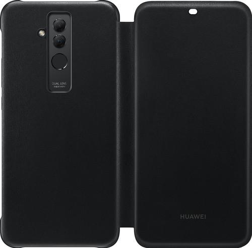 Huawei Mate 20 Lite Wallet Cover Black Main Image