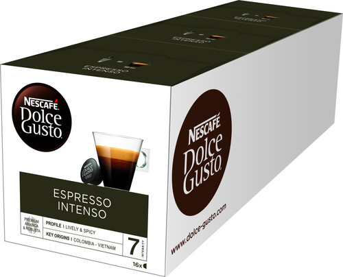 Dolce Gusto Espresso Intenso 3 pack Main Image