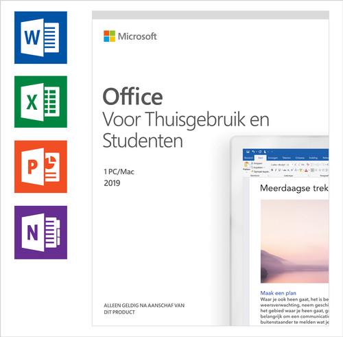 Microsoft Office 2019 Thuisgebruik en Studenten NL Main Image