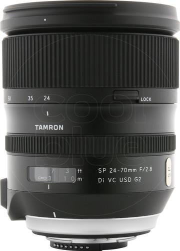 Tamron SP 24-70mm F/2.8 Di VC USD G2 Nikon Main Image