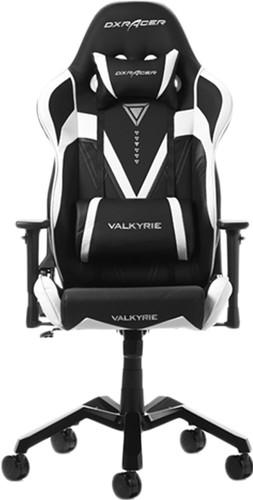 DXRacer Valkyrie Gaming Chair Zwart/Wit Main Image