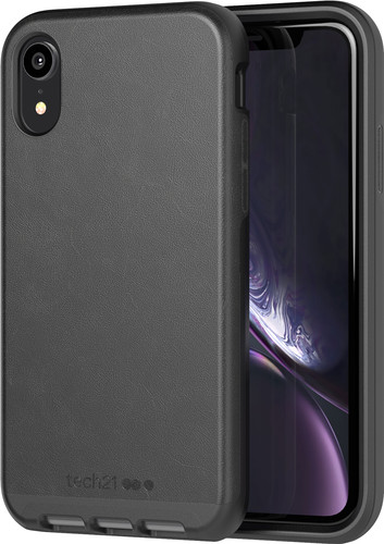 Tech21 Evo Luxury Apple iPhone XR Back Cover Black Main Image