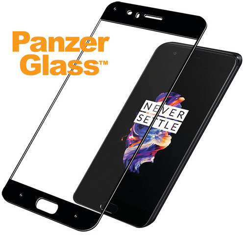 PanzerGlass Screen Protector OnePlus 5 Black Main Image