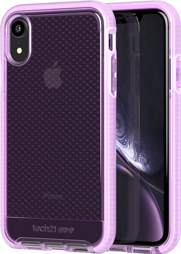 Tech21 Evo Check Apple iPhone XR Back Cover Pink Main Image
