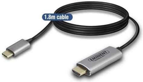Eminent AB7874 kabel converter USB Type-C naar HDMI Main Image