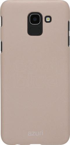 Azuri Metallic Soft Touch Samsung Galaxy J6 (2018) Back Cover Gold Main Image