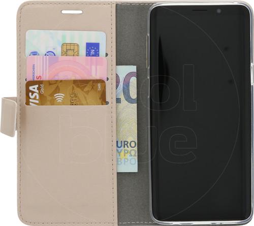Azuri Wallet Magneet Samsung Galaxy S9 Book Case Goud Main Image