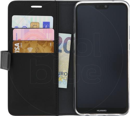 Azuri Wallet Magnetic Huawei P20 Lite Book Case Black Main Image