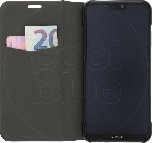 Azuri Booklet Ultra Thin Huawei P20 Lite Book Case Black Main Image