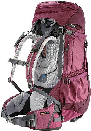 d0e5b9f91b7 Deuter Aircontact 50 + 10 SL Blackberry / Aubergine - Coolblue ...