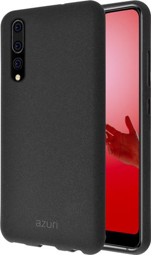 Azuri Flexible Sand Huawei P20 Pro Back Cover Black Main Image