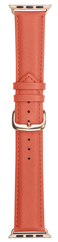 DBramante1928 Madrid Apple Watch 38mm Leren Horlogeband Roze Main Image