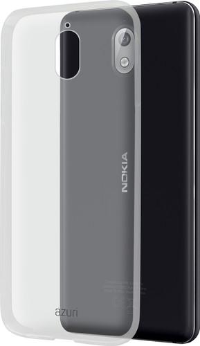 Azuri Glossy TPU Nokia 3.1 Back Cover Transparent Main Image