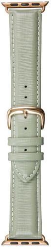 DBramante1928 Madrid Apple Watch 38mm Leren Horlogeband Groen Main Image