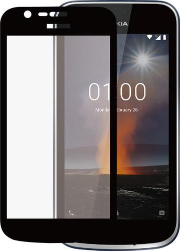 Azuri Tempered Glass Nokia 1 Screen Protector Glass Black Main Image