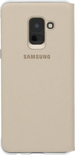 Samsung Galaxy A8 (2018) Neon Flip Cover Goud Main Image
