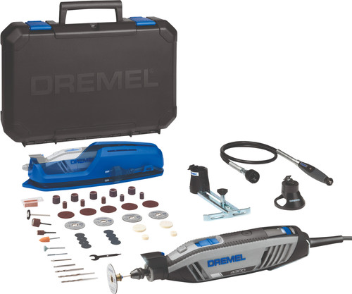 Oprindeligt Dremel 4300 YES + 45-piece accessory set - Coolblue - Before 23:59 LN83