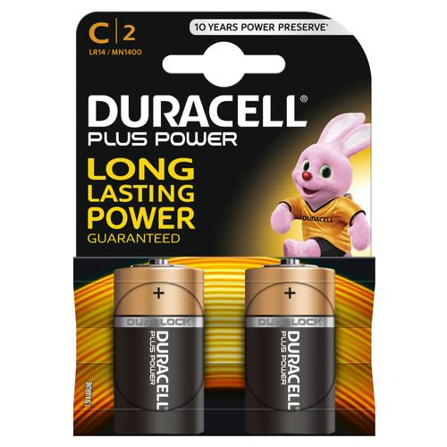 Duracell Plus Power alkaline C-batterijen 2 stuks Main Image