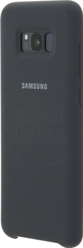 Samsung Galaxy S8 Plus Silicone Cover Gray Main Image