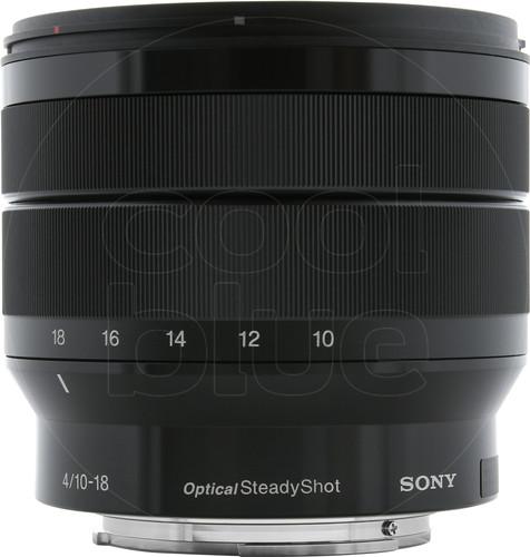 Sony E 10-18mm f/4 OSS Main Image