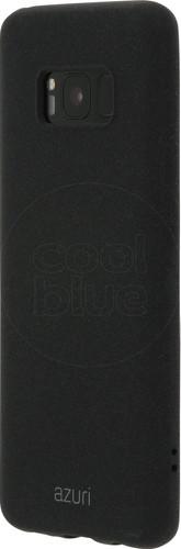 Azuri Flexible Sand Samsung Galaxy S8 Back Cover Black Main Image