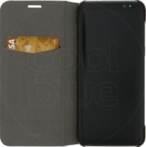 Azuri Booklet Ultra Thin Samsung Galaxy S8 Book Case Black Main Image