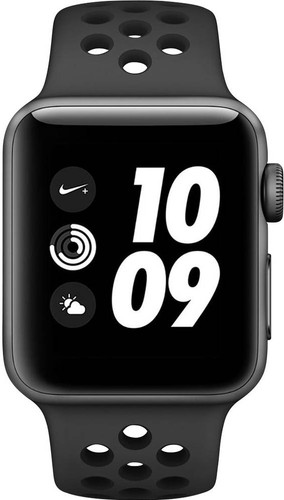 Apple Watch Series 3 Nike+ 42mm Space Gray Aluminum/Black Main Image