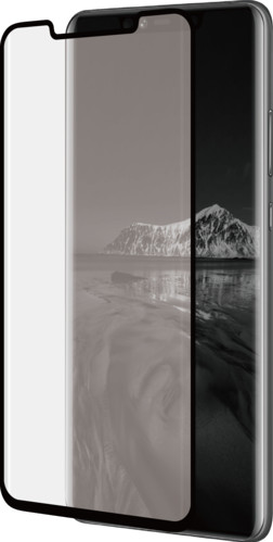 Azuri Curved Tempered Glass Huawei Mate 20 Pro Screen Protector Glass Black Main Image