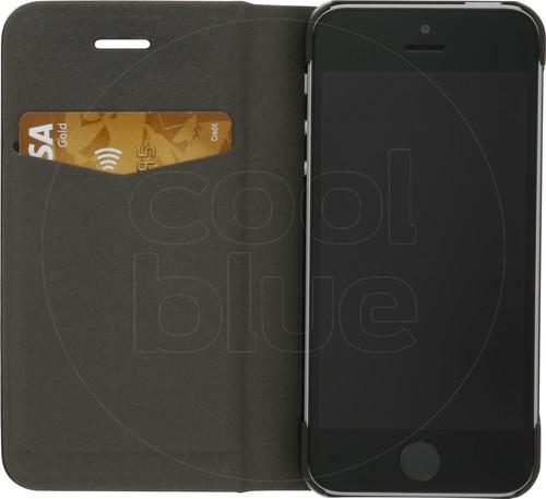 Azuri Booklet Ultra Thin Apple iPhone 5/5s/SE Book Case Black Main Image