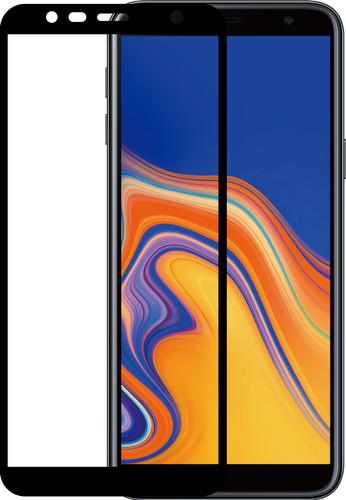 Azuri Gehard Glas Samsung Galaxy J6 Plus (2018) Screenprotector Glas Zwart Main Image