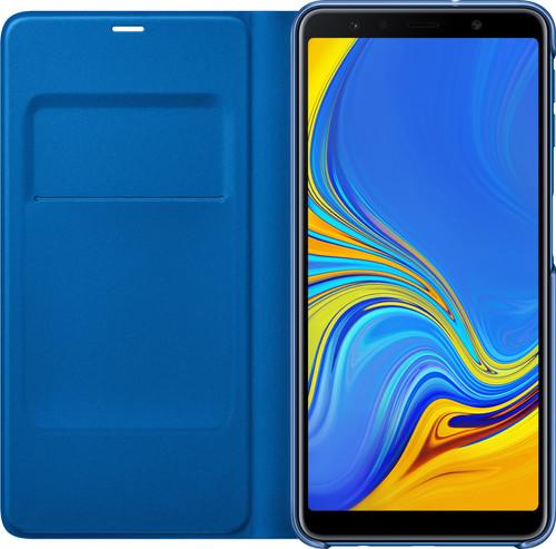 Samsung Galaxy A7 (2018) Wallet Book Case Blue Main Image