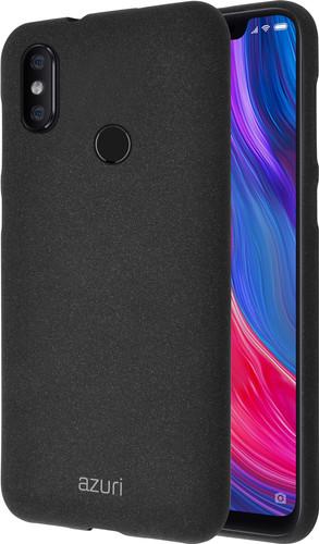 Azuri Flexible Sand Xiaomi Mi 8 Back Cover Black Main Image