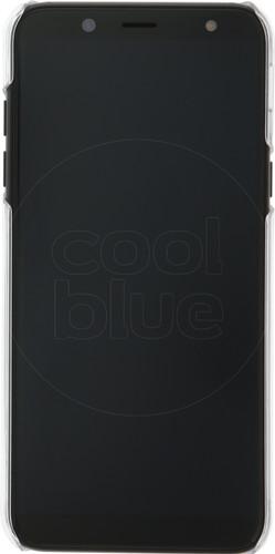 Azuri Samsung Galaxy A6 (2018) Back Cover Transparant Main Image