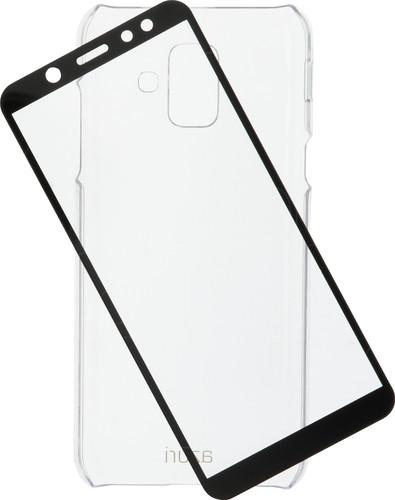 Azuri Protection Samsung Galaxy A6 (2018) Full Body Transparant Main Image