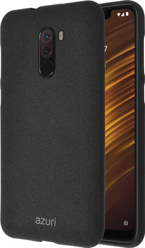 Azuri Flexible Sand Xiaomi Pocophone F1 Back Cover Black Main Image