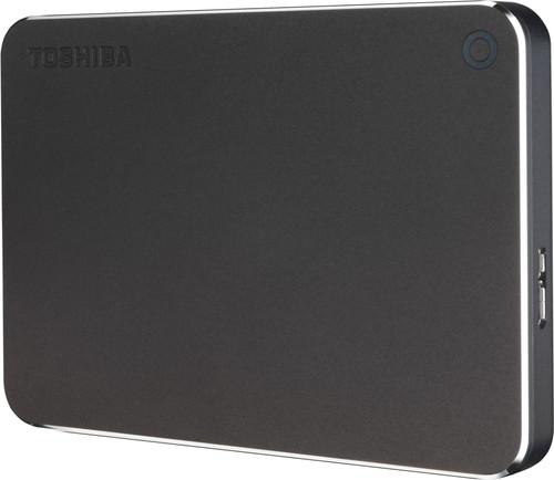 Toshiba Canvio Premium 1TB Dark Gray Main Image