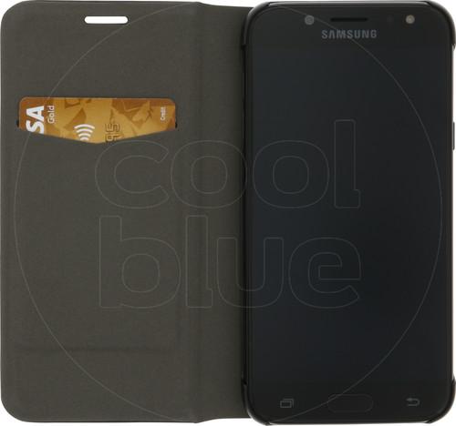 Azuri Booklet Ultra Thin Samsung Galaxy J5 (2017) Book Case Zwart Main Image