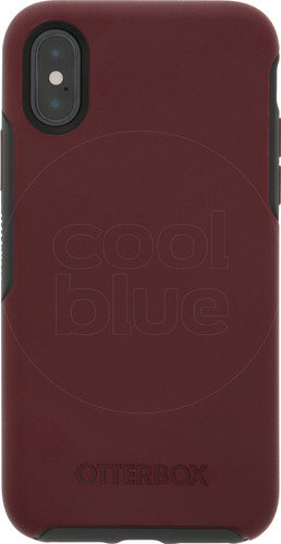 Otterbox Symmetry Apple iPhone Xs Back Cover Red Main Image