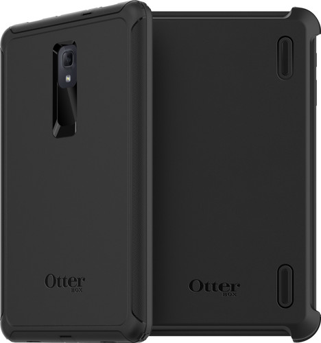 OtterBox Defender Samsung Galaxy Tab A 10.5 Back Cover Black Main Image